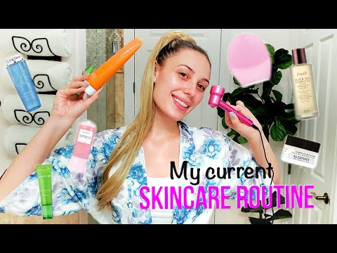 MY CURRENT SKINCARE ROUTINE | Hydrated & Glowy Skin | Victoria Lyn