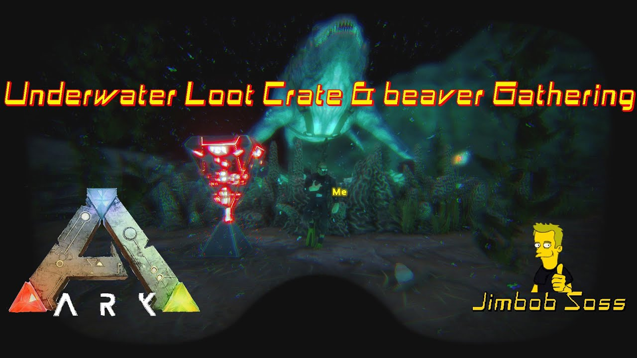 Ark survival evolved underwater loot crate beaver gathering youtube ark survival evolved underwater loot crate beaver gathering malvernweather