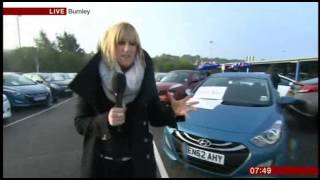 Motorpoint Appearance on BBC Breakfast - September 19, 2013