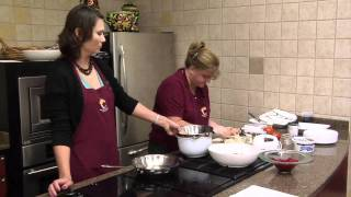 Guest Chefs Cindy Lemons And Stacey Eubanks - Salmon Cakes