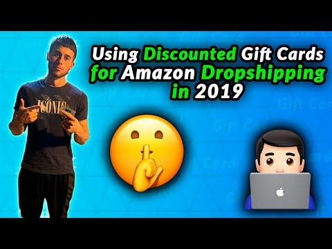How To Use Discounted Gift Cards For Amazon Dropshipping In 2019