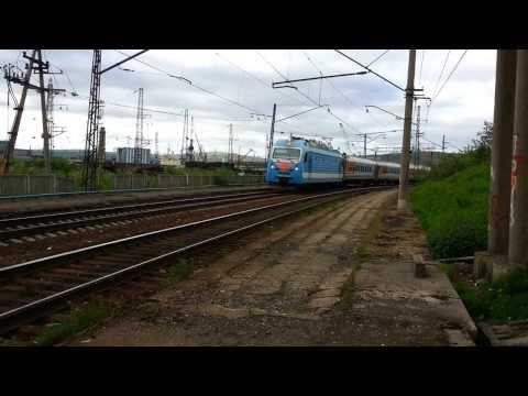 ЭП1м-394 с поездом №16 Москва-Мурманск