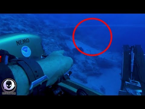 "Diver Claims ""ALIEN SHIP"" Found Under Bermuda Triangle!"
