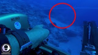 "Diver Claims ""ALIEN SHIP"" Found Under Bermuda Triangle!"