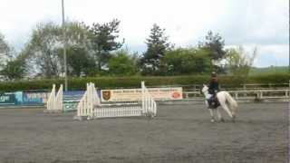 Sophie and Shanti. 70cm jump off DC 2nd at Port Royal E.C 22.04.12