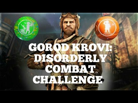 """""""Disorderly Combat"""" Challenge with Perkaholic! 1st room On """"Gorod Krovi"""" high round attempt!"""