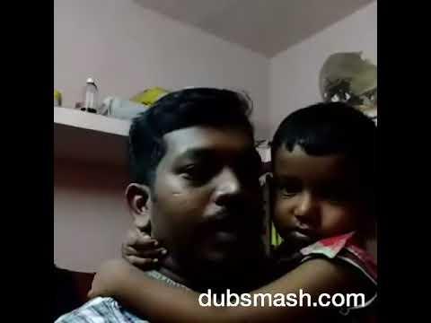 Best of my dubsmash...With my son Hrishikesh... Da