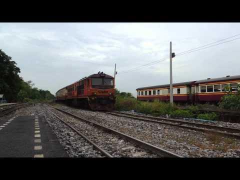 รถไฟไทย # ขบวนรถชานเมืองที่ 344 แก่งคอย - กรุงเทพฯ  State Railway of Thailand