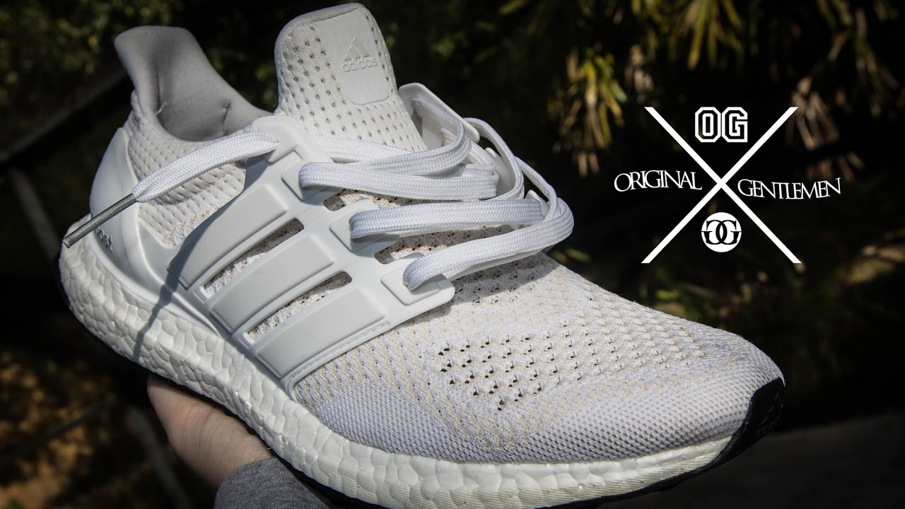 c4f48b6127f BEST WAY to Keep Your White Ultra Boosts WHITE   Fresh  Yeezys or any white  sneaker