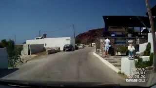 Дороги Греции Санторини с севера на юг(, 2015-03-10T21:06:02.000Z)