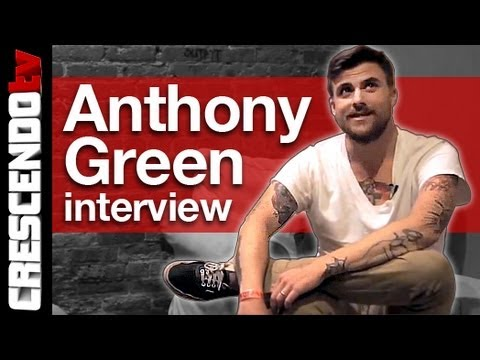 ANTHONY GREEN interview | Making Music with His Family | Peeing On People..