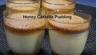 Honey Castella Pudding