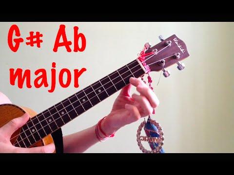 G# Ab Major Ukulele Chords