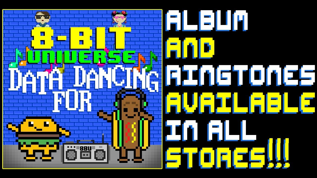 Data For Dancing Album and Ringtones AVAILABLE NOW!