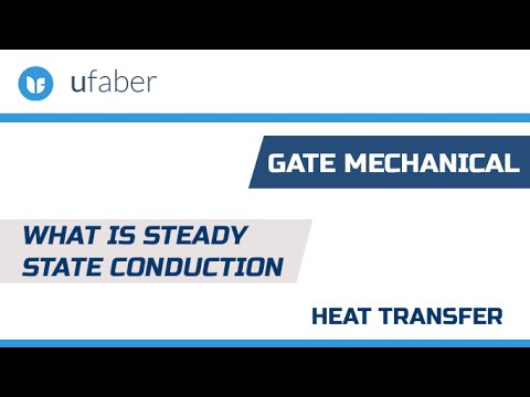 What is Steady State Conduction - Heat Transfer - GATE Mechanical