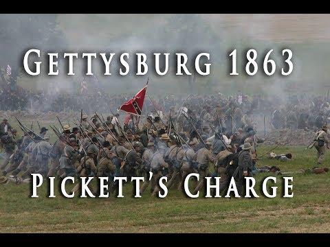 La carga de la brigada Pickett