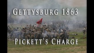 civil war 1863 gettysburg picketts charge
