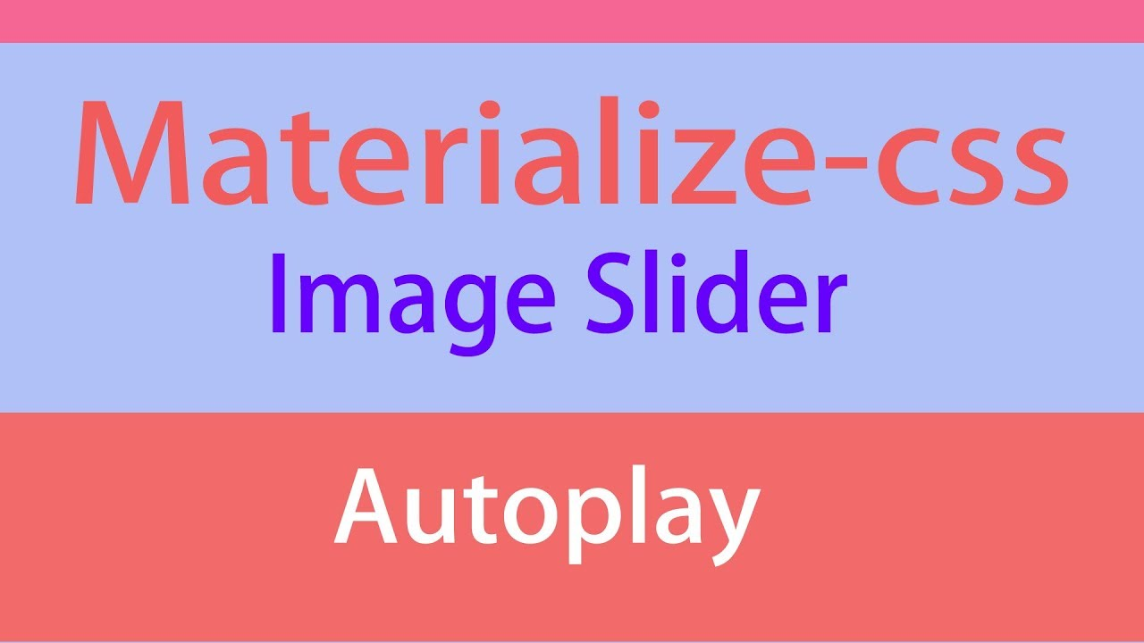Materialize Css Carousel Autoplay