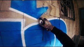 Graffiti - Dozer CT // Blue Magic // Gopro 2018