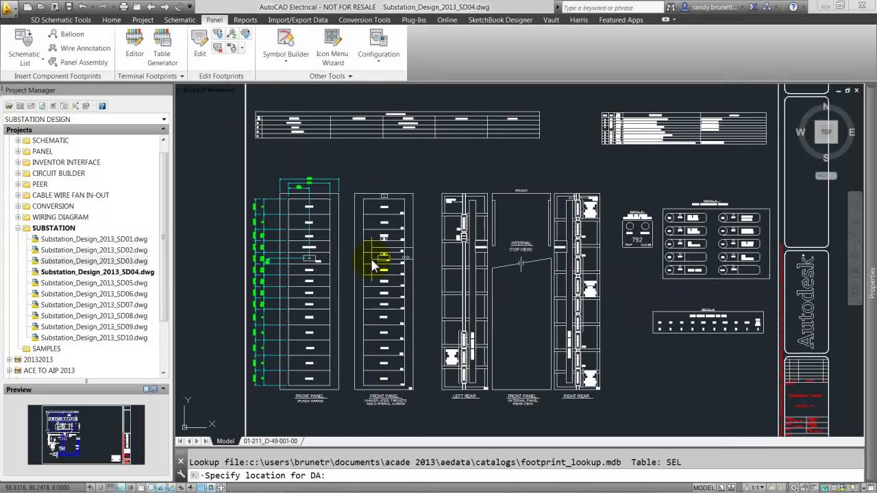 wiring diagram plc panel pace american cargo trailer layout - autocad electrical 2015 autodesk youtube