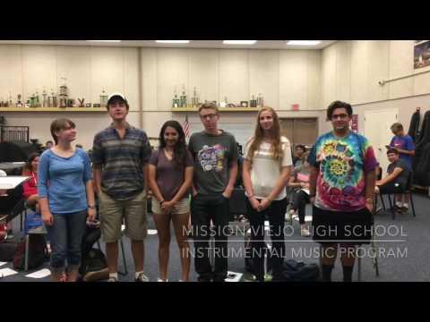 Mission Viejo high school music program