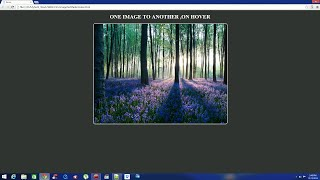 HTML and CSS Tutorial : How to fade one image to an another image on mouse hover in HTML and CSS.