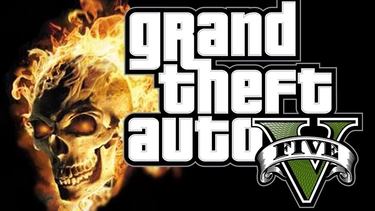 Ghost Rider in GTA 5