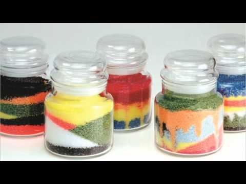 granulated candle wax art the easiest way to make candles youtube. Black Bedroom Furniture Sets. Home Design Ideas
