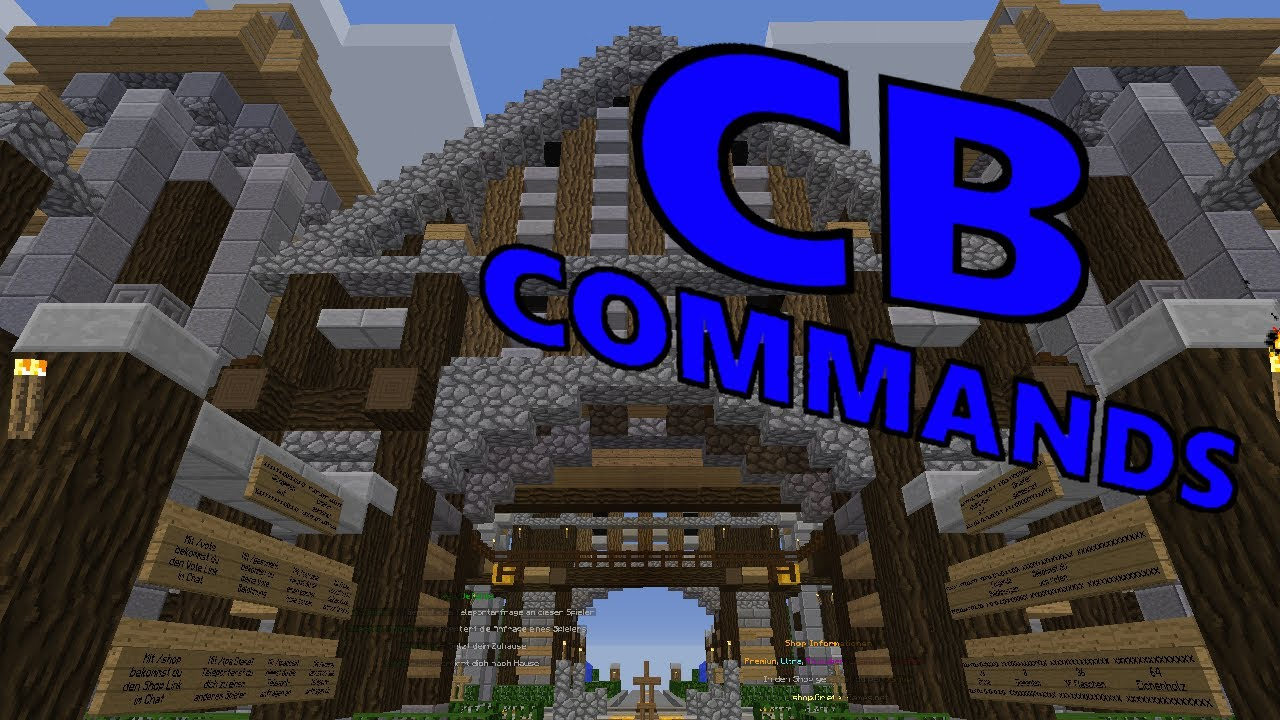 GrieferGames City Build Commands Für Anfänger YouTube - Minecraft hohlen hauser