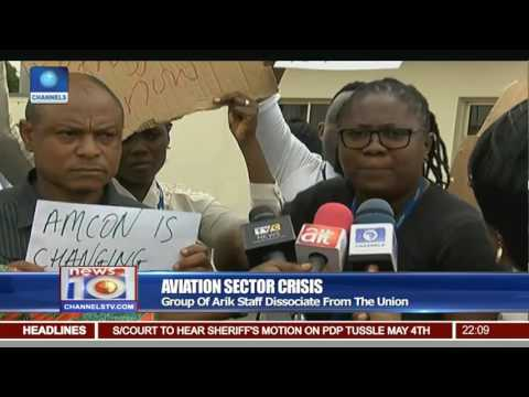 Aviation Sector Crisis: Group Of Arik Staff Dissociate From The Union