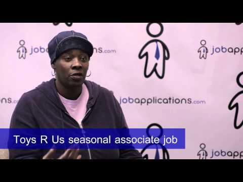 Toys R Us Interview - Seasonal Associate