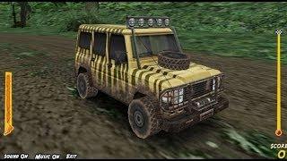 Juego de Autos 8: Jeep perseguido por El Tyranosaurio Rex