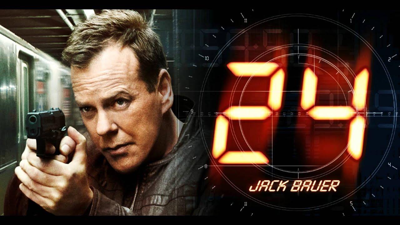 "24: Soundtrack - ""Jack on the move"" - Jack Bauer - Kiefer ..."