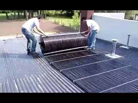 Climatizacion solar para piscinas youtube for Piscinas de plastico para ninos