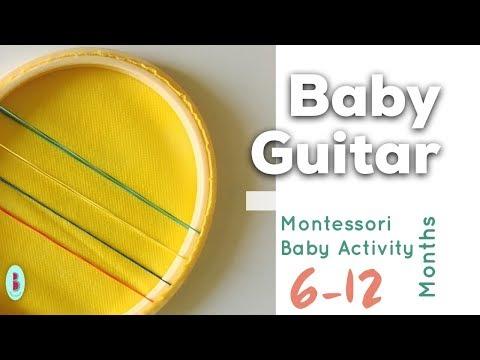 أنشطة-مونتيسوري-للأطفال-:-غيتاري-الصغير-|-٦-أشهر-و-ما-فوق-|-montessori-activities-|-baby-melons