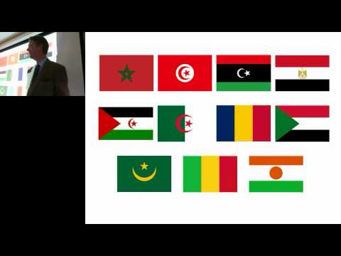 SAIS lecture 13 - political risk in North Africa (29 April 2013) by Eamonn Gearon