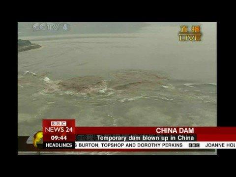 China Dam Explosion