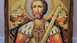 Икона Александр Невский под старину(, 2017-01-20T06:29:23.000Z)