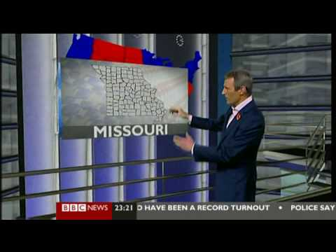 BBC Coverage: US Election Night 2008 opening