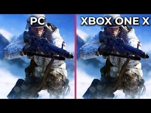 Battlefield 5 – PC 4K Ultra vs. Xbox One X Graphics Comparison