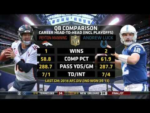 Denver Broncos vs Indianapolis Colts - 08 Nov 2015 - Full