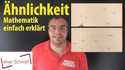 Ähnlichkeit von Dreiecken | Lehrerschmidt - einfach erklärt!