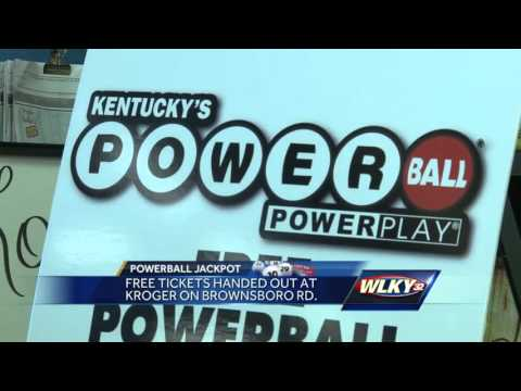 Free Powerball tickets handed out in Kentucky