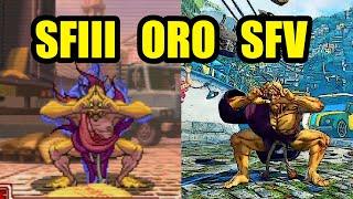 SFIII Oro vs SFV Oro - Side by Side Comparison