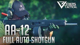 AA-12 Fully Automatic Shotgun 4k