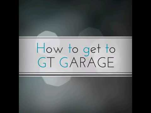 How to get to GT GARAGE