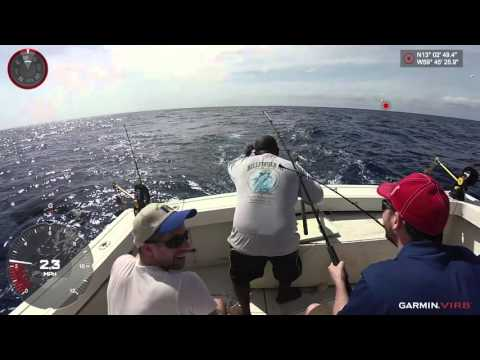 VIRB XE - Deep Sea Fishing Highlights from Barbados