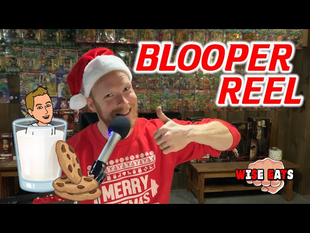 Blooper Reel / Outtakes from Episode 36 of Wise Eats CHRISTMAS SPECIAL