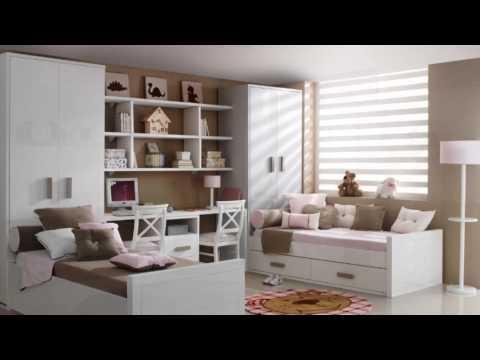 Dormitorios infantiles en dm lacado youtube - Dormitorios infantiles dobles ...