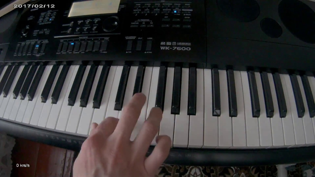 new order blue monday casio wk 7600 piano tutorial cover youtube. Black Bedroom Furniture Sets. Home Design Ideas